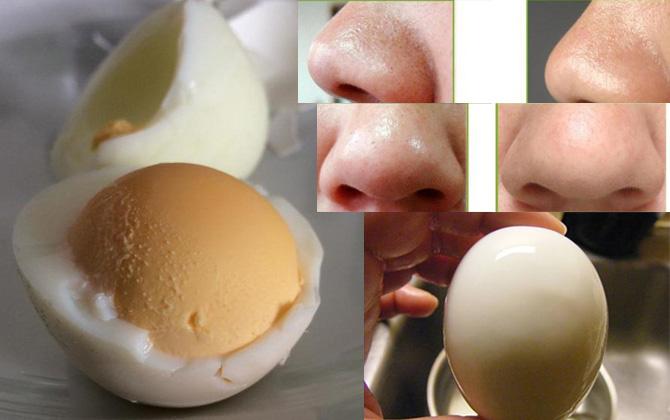 Học người Hàn cách trị mụn đầu đen chỉ với một quả trứng