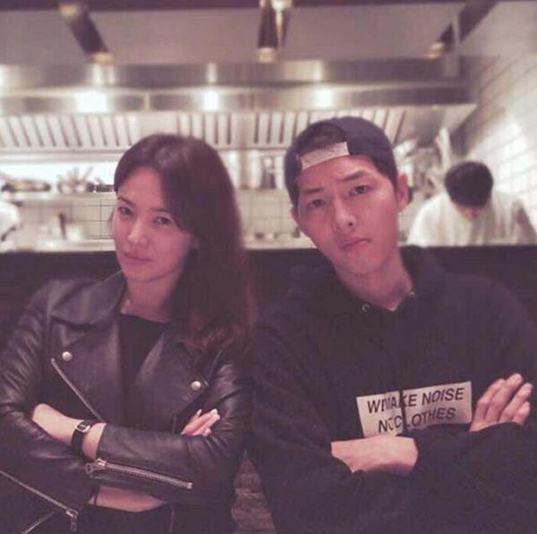 Song Joong Ki và Song Hye Kyo kết hôn