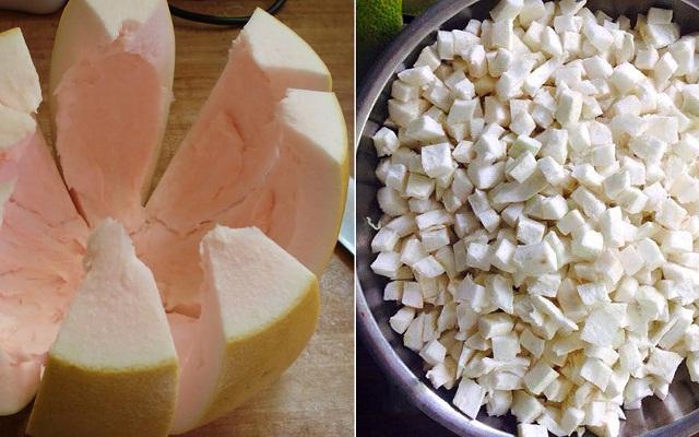 Cách nấu chè bưởi giòn ngon không bị đắng, ngọt thơm đúng điệu