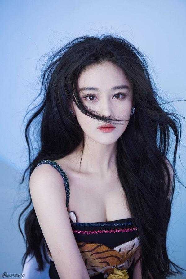 8 bộ ngực đẹp nhất làng giải trí Trung Quốc