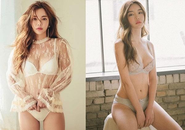 người mẫu nội y Hàn Quốc
